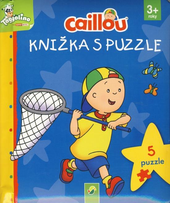 Caillou - Knižka s puzzle