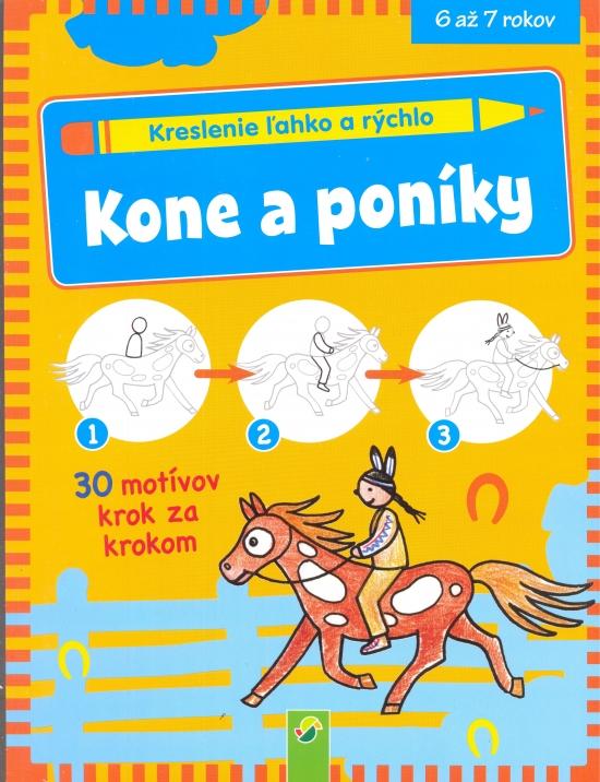 Kone a poníky - Kreslenie ľahko a rýchlo