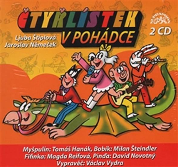 Čtyřlístek v pohádce - 2CD - interpreti Různí