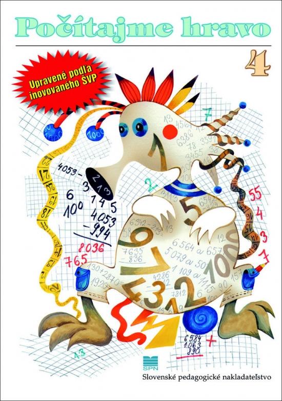 Počítajme hravo 4 - 4. prepracované vydanie - doplnok k učivu pre 4. r. ZŠ - Eva Dienerová