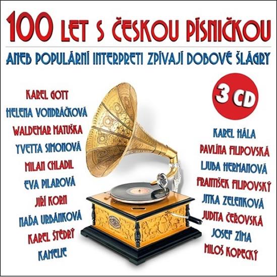 100 let s českou písničkou aneb populární interpreti zprívají dobové šlágry - 3CD