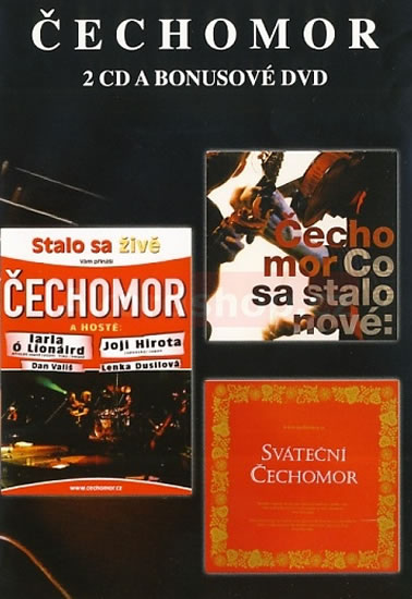 Čechomor - Výběr - 2CD/DVD