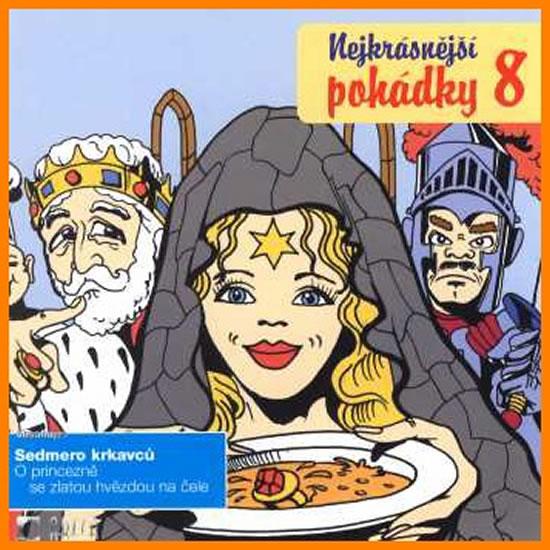 Nejkrásnější pohádky 8. - CD