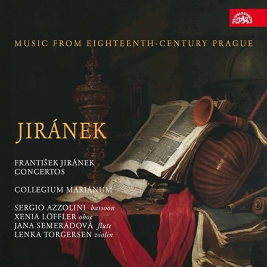 F. Jiránek - Hudba Prahy 18. století - CD - František Jiránek