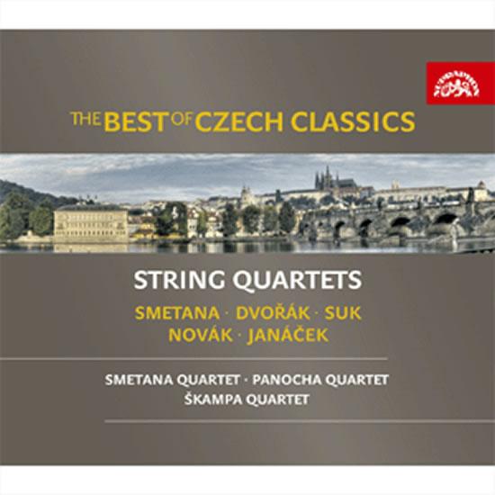 The Best of Czech Classics - smyčcové kvartety; Smetana, Dvořák, Janáček - 3CD - interpreti Různí