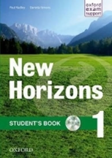New Horizons 1 Student´s Book with CD-ROM Pack - Paul Radley
