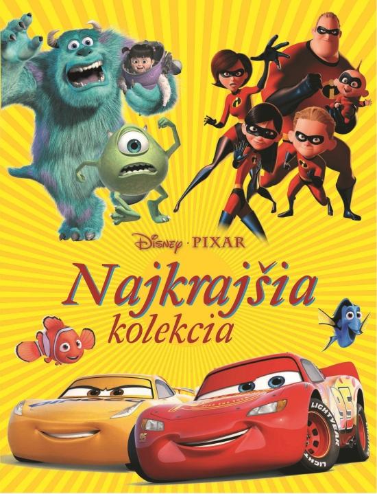 Disney Pixar - Najkrajšia kolekcia