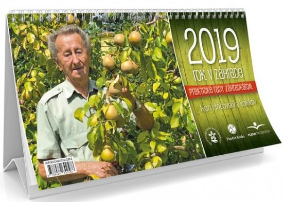 Rok v záhrade 2019- stolový kalendár