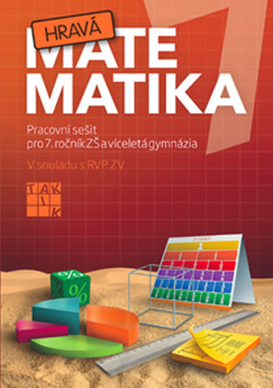 Hravá matematika 7 - PS pro 7. ročník ZŠ a víceletá gymnázia - Veronika Peráčková a kolektiv