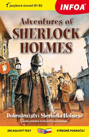 Dobrodružství Sherlocka Holmese / Adventures of Sherlock Holmes - Zrcadlová četba - Sir Arthur Conan Doyle