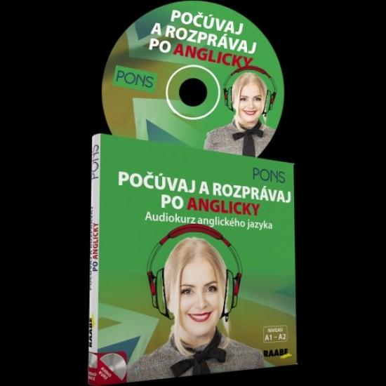 Počúvaj a rozprávaj po anglicky -audiokurz anglického jazyka-CD