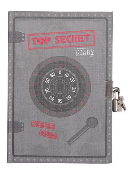 Přísně tajné - Uzamykatelný deník pro kluky dobrodruhy