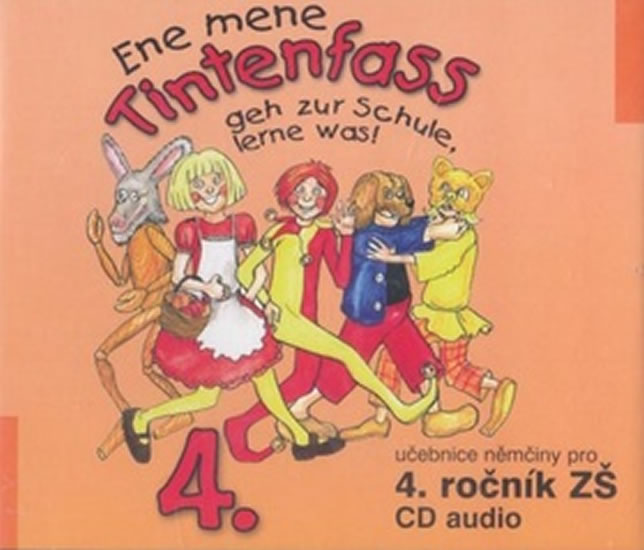 Ene mene Tintenfass 4 audio CD