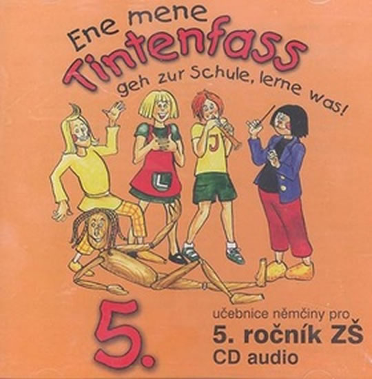 Ene mene Tintenfass 5 audio CD