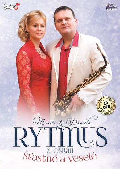 Rytmus - Šťastné a Veselé - CD + DVD