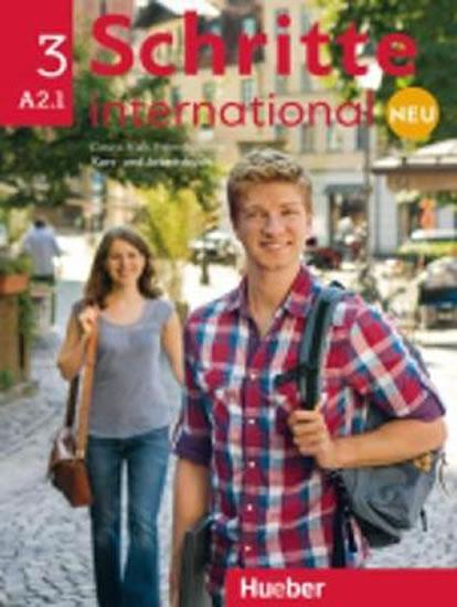 Schritte international Neu 3: Kursbuch + Arbeitsbuch mit Audio-CD - Christoph Wortberg