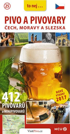 Pivo a pivovary Čech, Moravy a Slezska - kapesní průvodce/česky - Jan Eliášek
