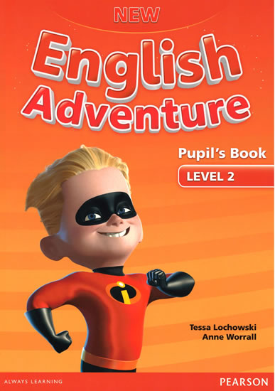 New English Adventure 2 Pupil´s Book and DVD Pack - Anne Worrall