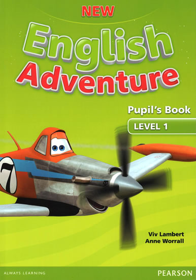 New English Adventure 1 Pupil´s Book and DVD Pack - Anne Worrall