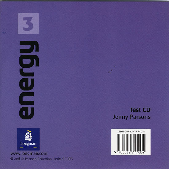 Energy 3 Test CD - Jenny Pearson