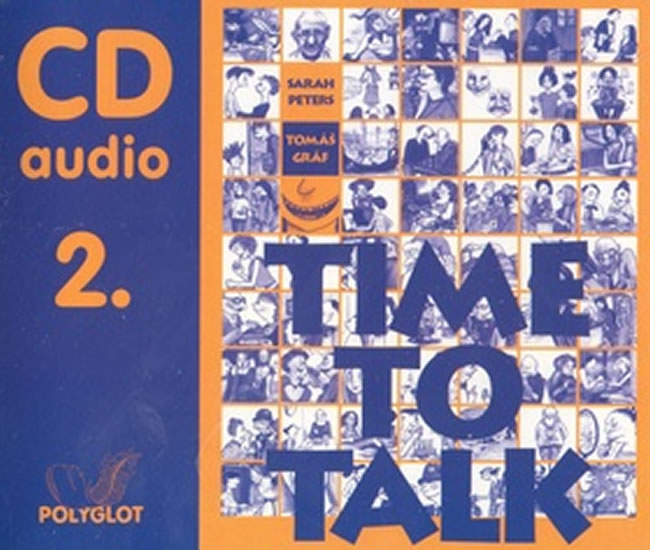 Time to talk 2 - audio CD - Sarah Peters, Tomáš Gráf