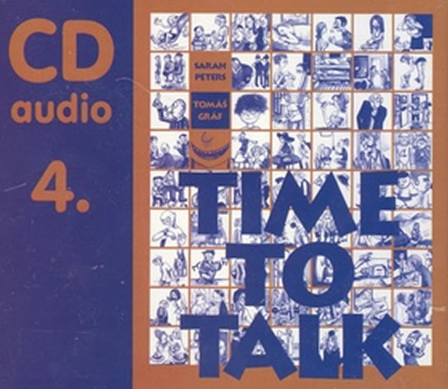 Time to talk 4 - audio CD - Sarah Peters, Tomáš Gráf