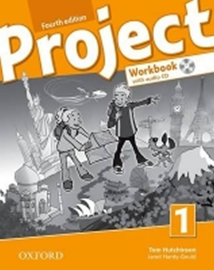 Project Fourth Edition 1 Workbook with Audio CD and Online Practice (International English Version) - Tom Hutchinson