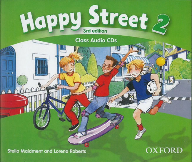 Happy Street 3rd Edition 2 Class Audio 3 CDs - Stella Maidment