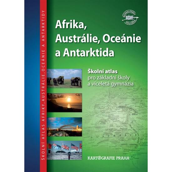 Školní atlas/Afrika, Austrálie,Oceánie