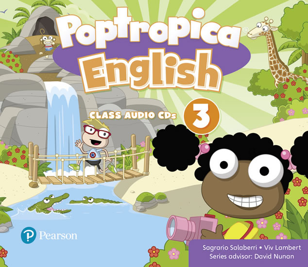Poptropica English Level 3 Audio CD - Sagrario Salaberri