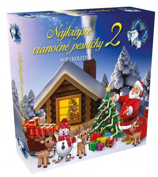 Najkrajšie vianočné pesničky 2 2CD box / Pop koledy
