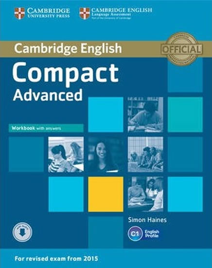Compact Advanced: Workbook with Answers with Audio CD