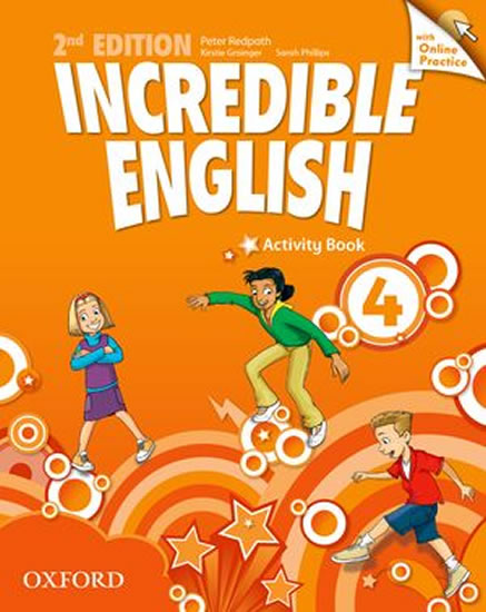 Incredible English 2nd Edition 4 Activity Book with Online Practice - Peter Redpath