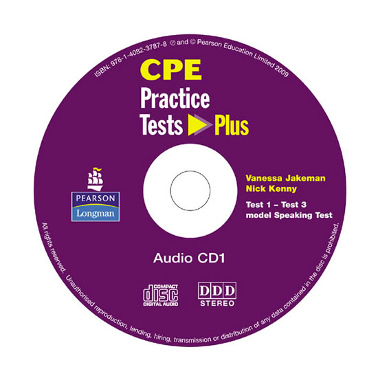 CPE: Practice Tests Plus CDs 1-2 - Nick Kenny