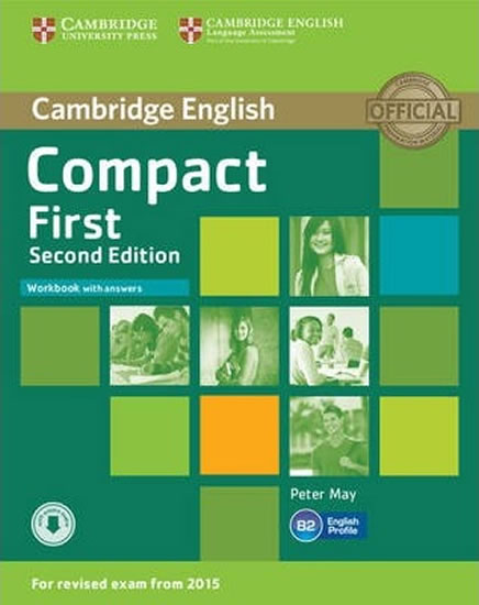 Compact First 2nd Edition: Workbook with Answers with Audio CD - Peter May