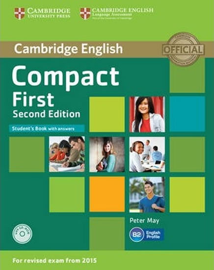 Compact First 2nd Edition: Student´s Book with Answers with CD-ROM - Peter May