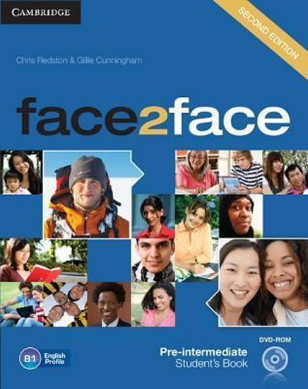 face2face 2nd Edition Pre-intermediate: Student´s Book with DVD-ROM - Chris Redston