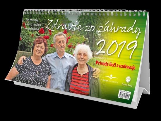 Zdravie zo záhrady 2019 - stolový kalendár