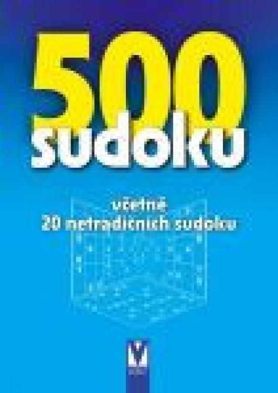500 sudoku (bleděmodrá obálka)