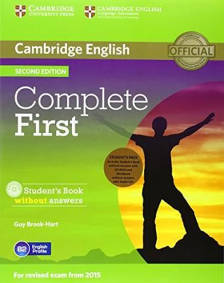 Complete First 2nd Edition: Student´s Pack (SB + WB w/o ans. & CD-ROM) - Guy Brook-Hart