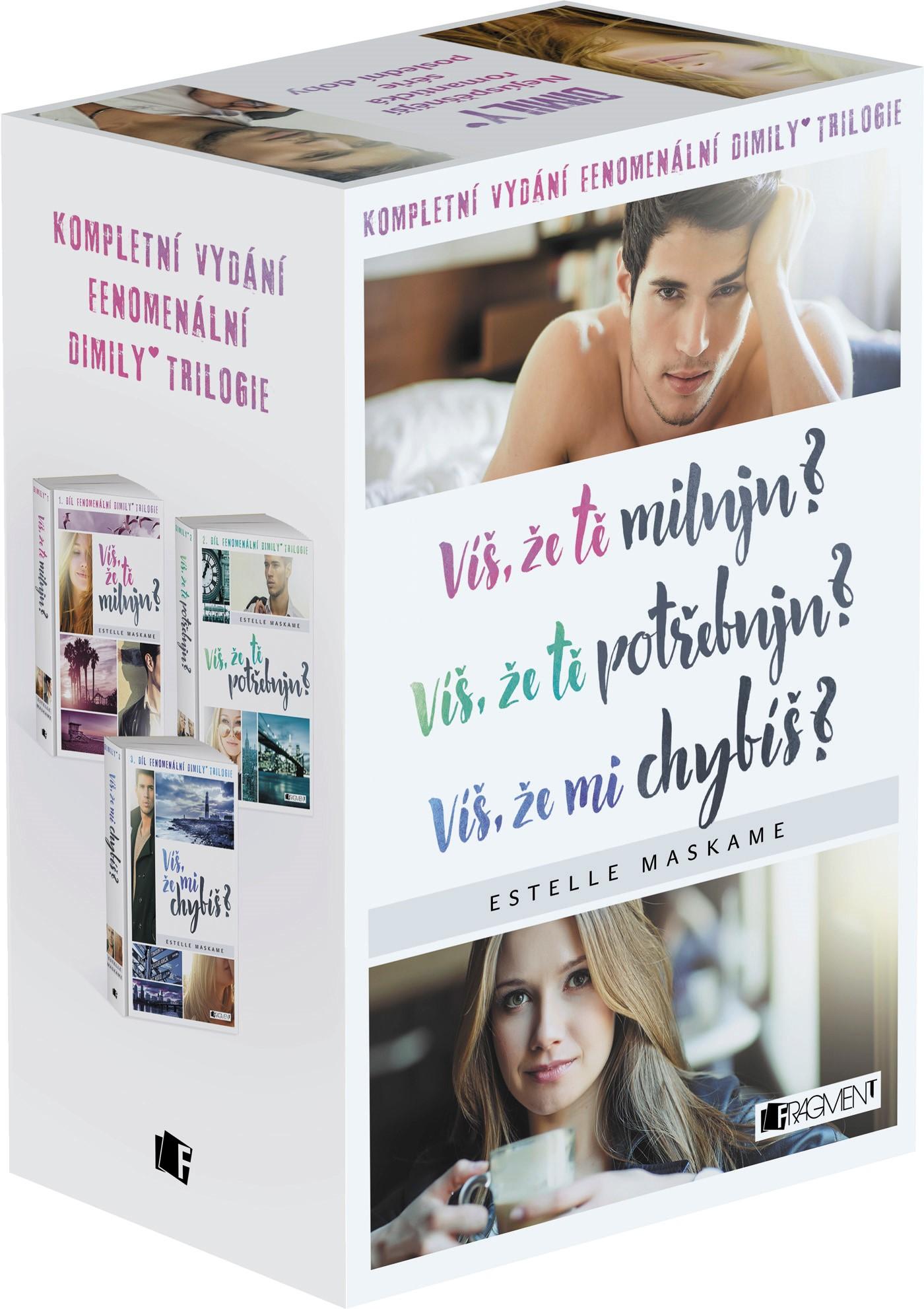 Víš, že… DIMILY trilogie - box - Estelle Maskame