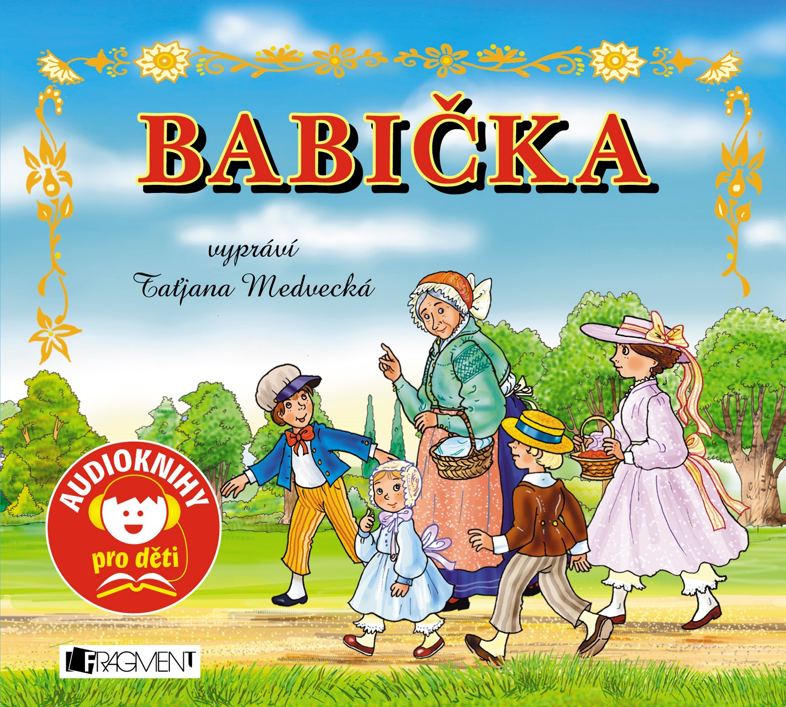 Babička (audiokniha pro děti) - Petr Pouza