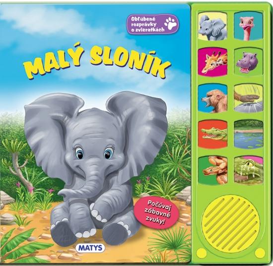 Malý sloník - zvuková knižka