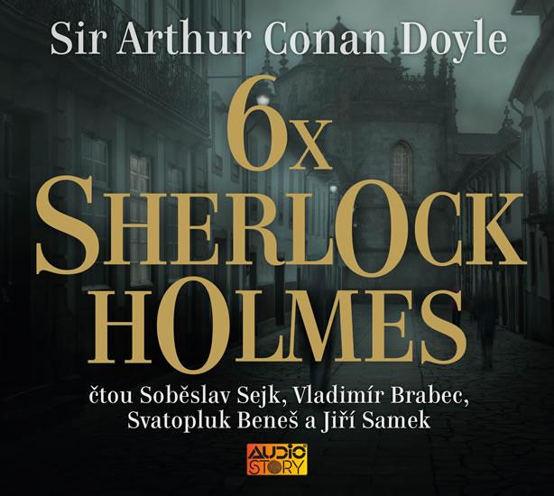 6x Sherlock Holmes - Výběr z již legendá