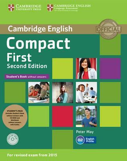Compact First 2nd Edition: Student´s Pk - Peter May