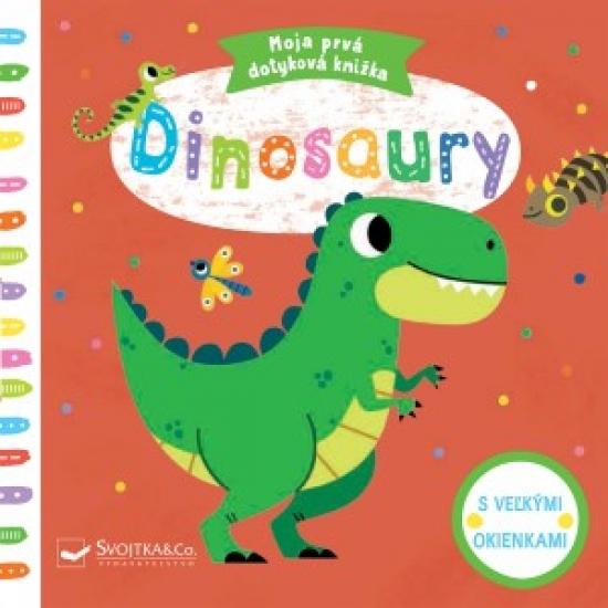 Dinosaury - Moja prvá dotyková knižka - Tiago Americo