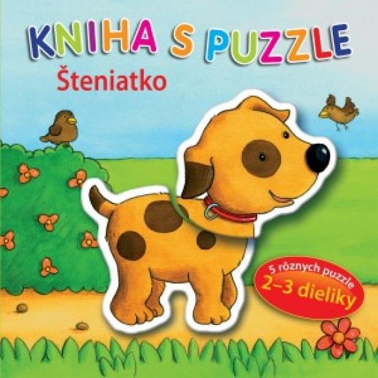 Kniha s puzzle - Šteniatko