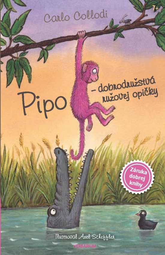 Pipo - dobrodružstvá ružovej opičky - Carlo Collodi