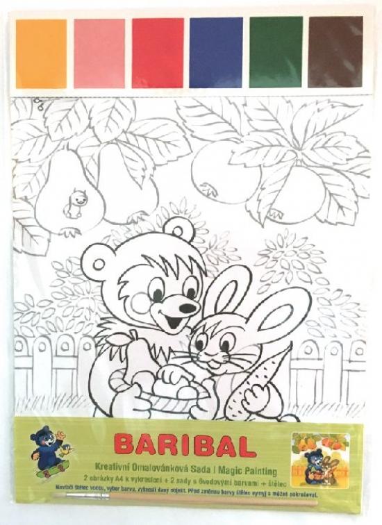 Baribal - Kreativní omalovánková sada Ma