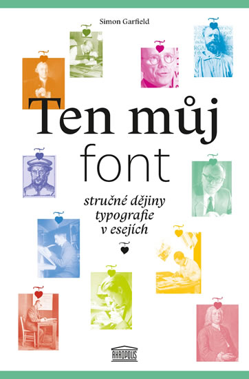 Ten můj font - Simon Garfield